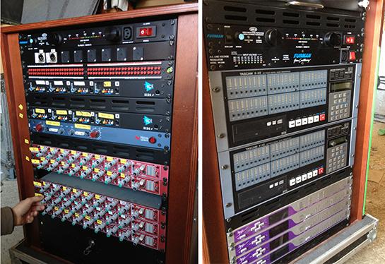 Unidad Móvil de grabación en directo