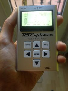 RF Explorer WSUB1G