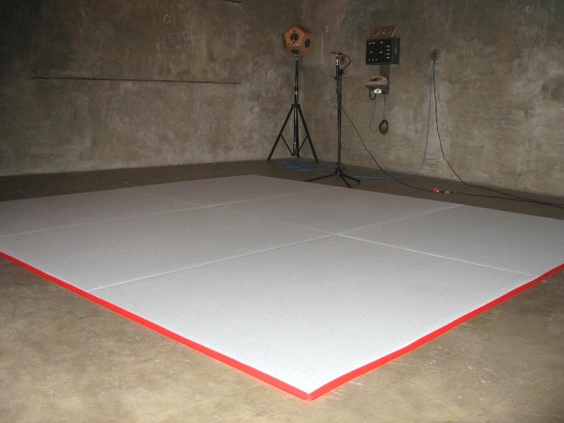 medición de coeficiente de absorción acústica